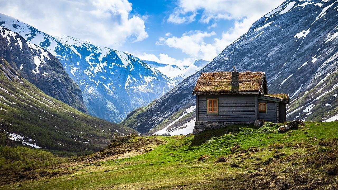 Domek v horách