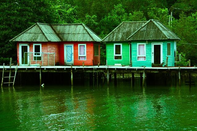 domky na molu