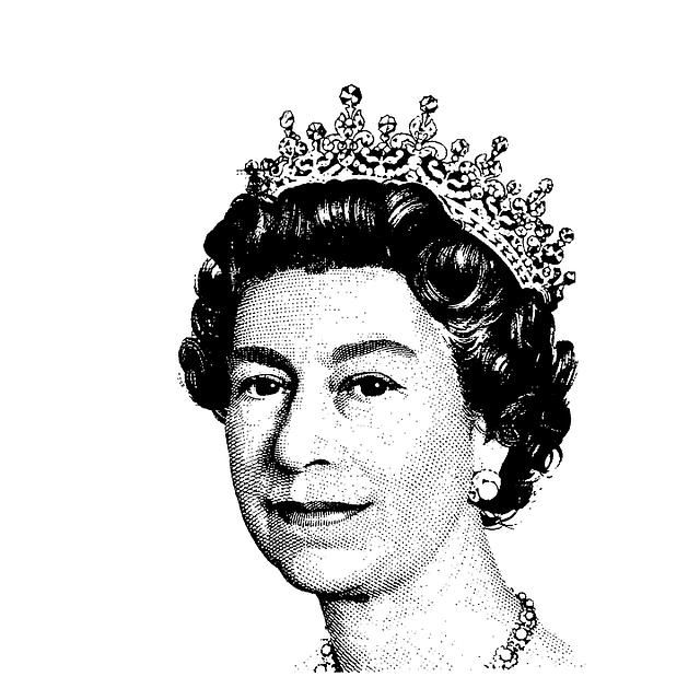královna Británie