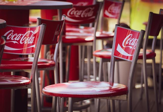 Barové židličky Coca Coly