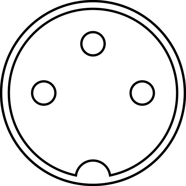 schématický obrázek zásuvky