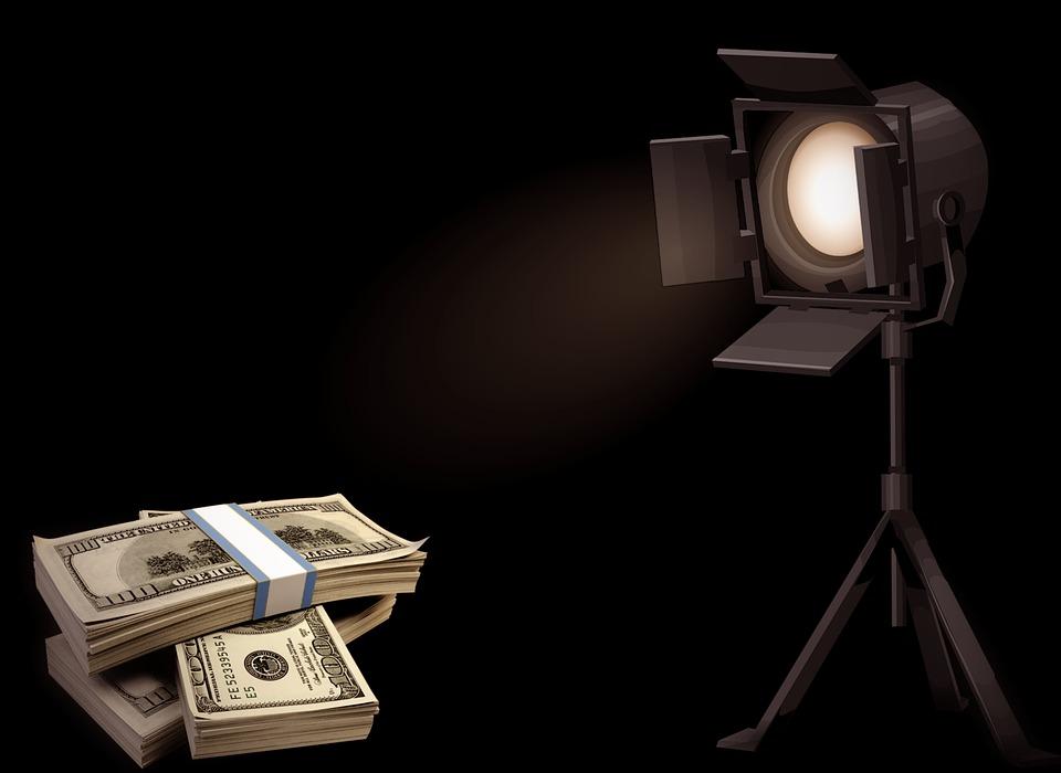 osvícené dolary